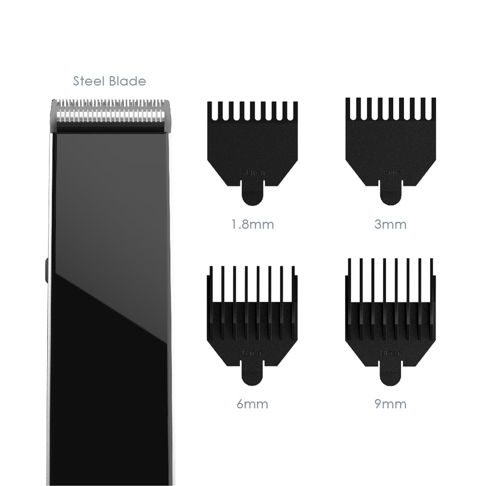 Load image into Gallery viewer, TRYM™ Lithium Rechargeable Beard Trimmer Set