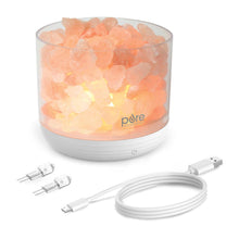 Load image into Gallery viewer, PureGlow™ USB Salt Lamp