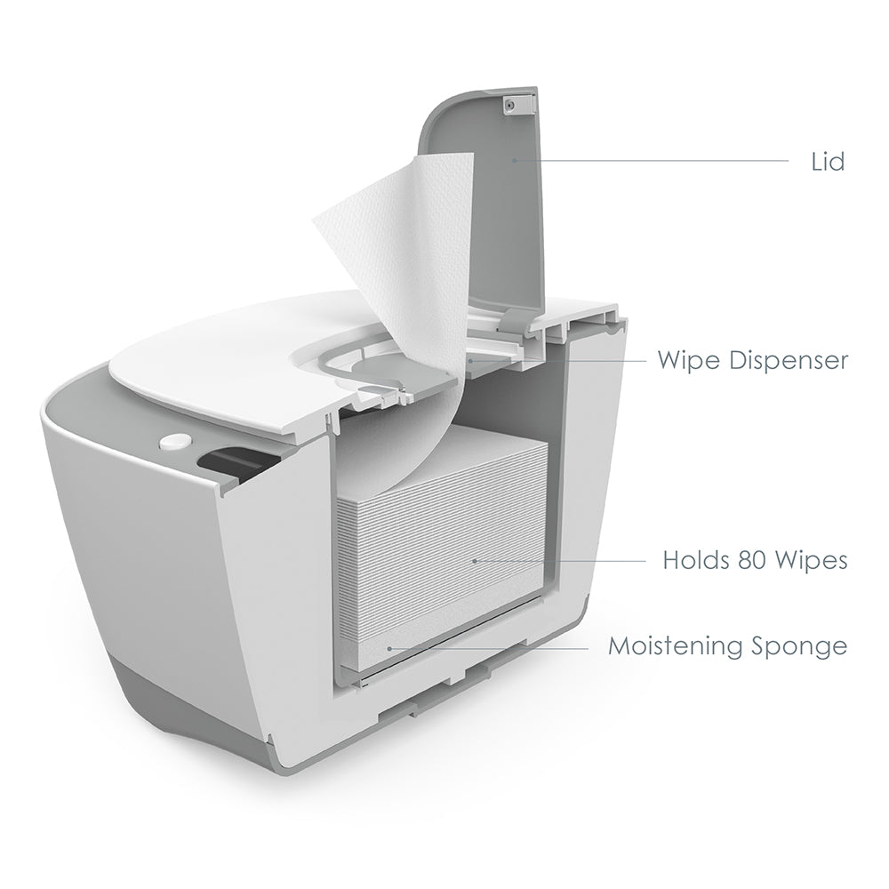 Load image into Gallery viewer, PureBaby® Wipe Warmer with Digital Display