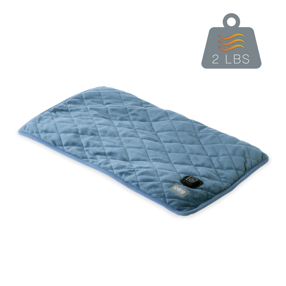 WeightedWarmth™ Weighted Lap Pad with Heat