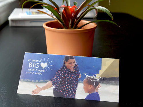 Teacher Card - Big Heart