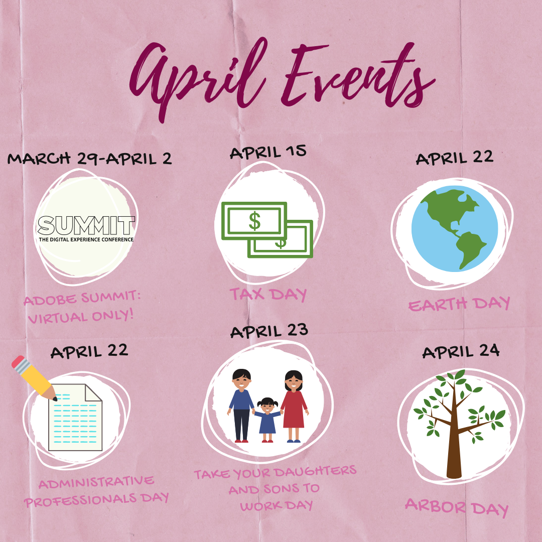 Product Ideas for Your April Events