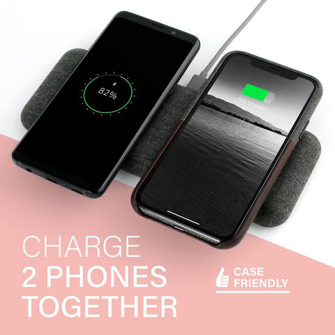 Nimble wireless dual pad charger