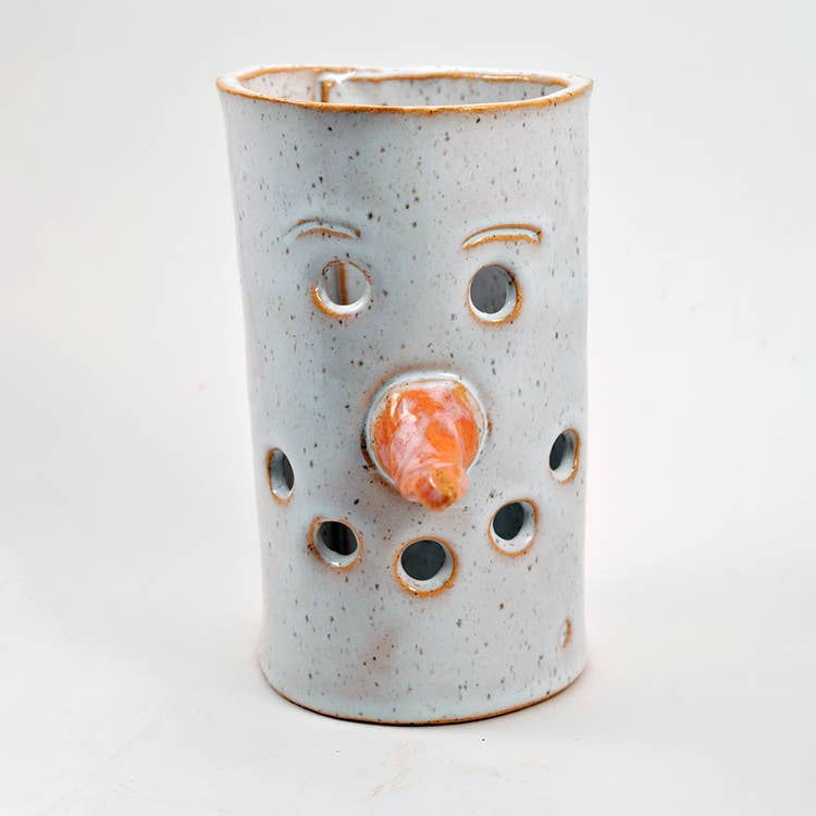 Snowman Candle Luminary