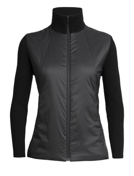 Icebreaker Lumista Hybrid Sweater Jacket // Ladies