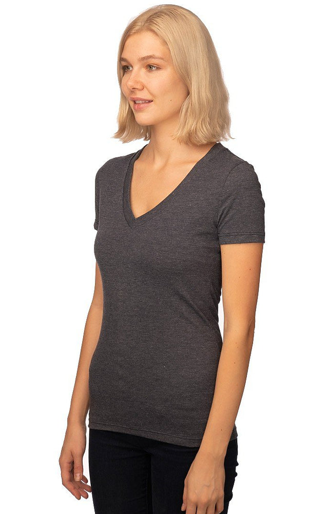 Women's V-Neck Tee // USA Made