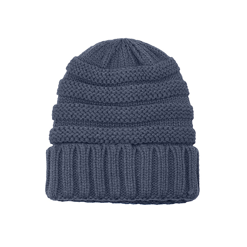 Knitted Beanie denim