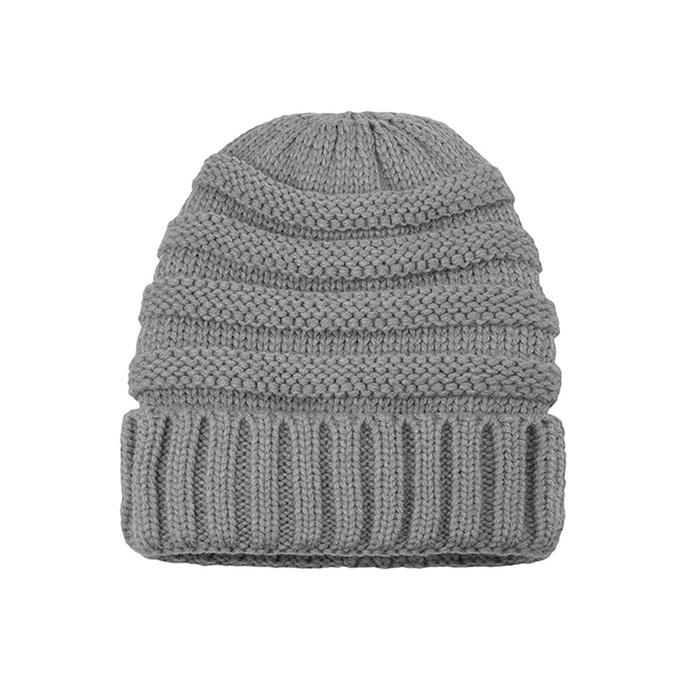 Knitted Beanie grey