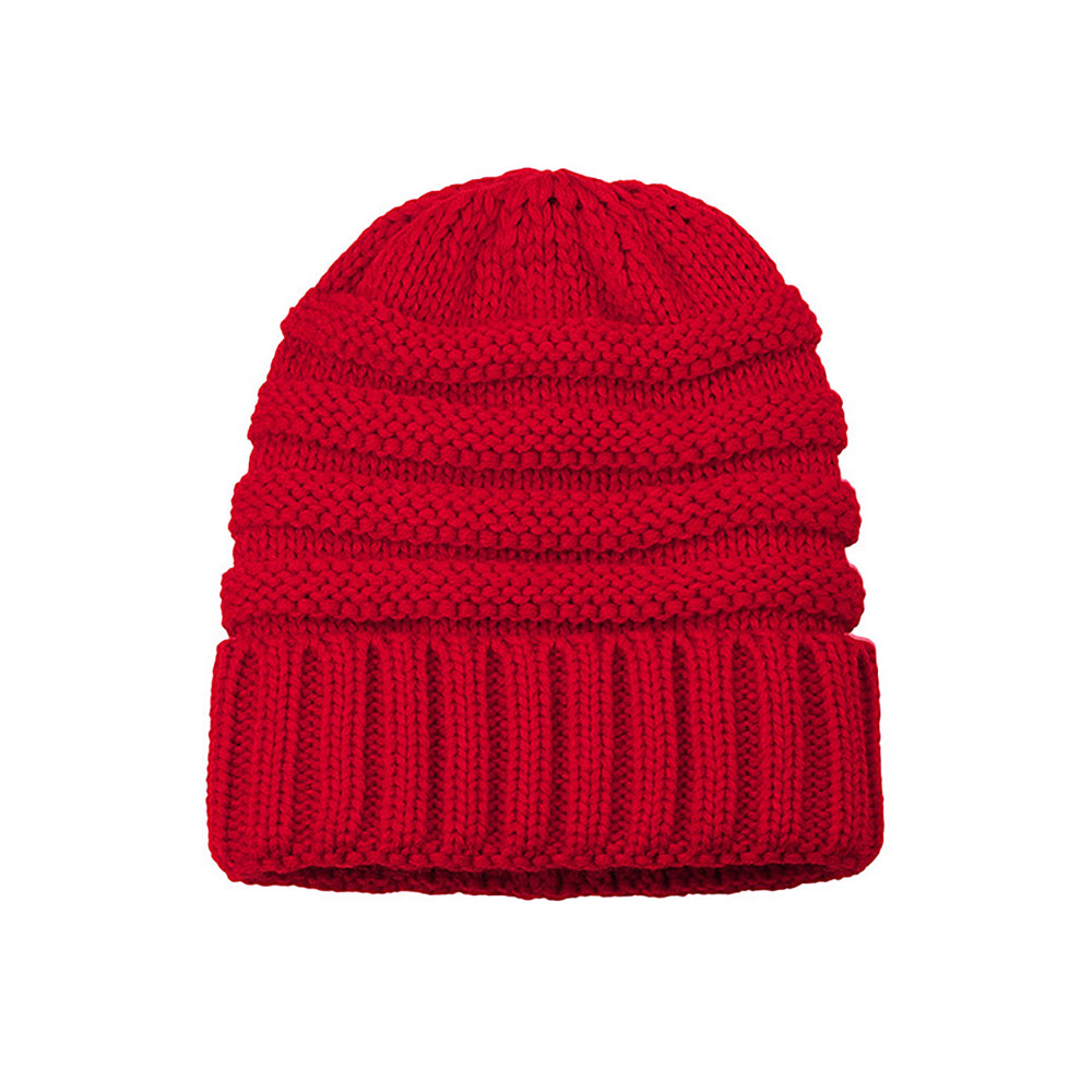 Knitted Beanie red