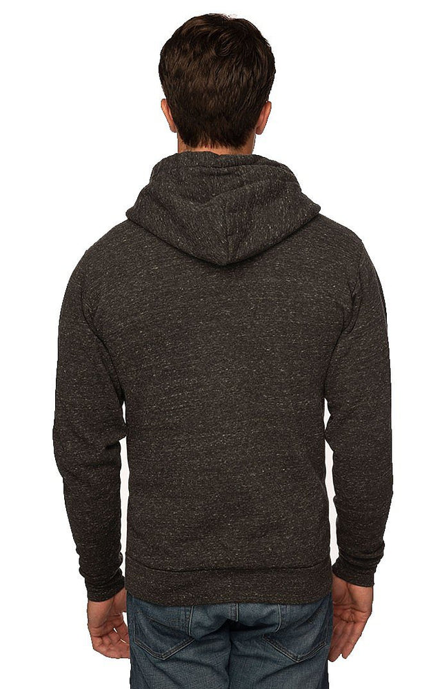 Triblend Fleece Zip Hoodie // USA Made