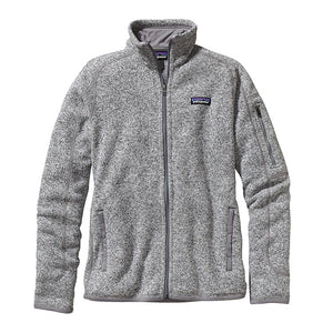 Patagonia Women's Better Sweater Jacket in birch white