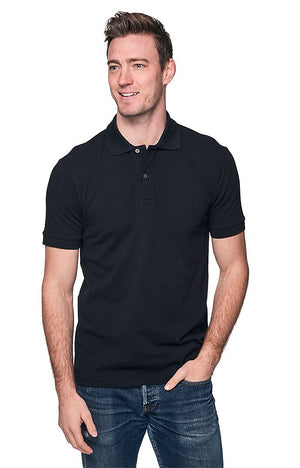 Organic Pique Polo Shirt // USA Made