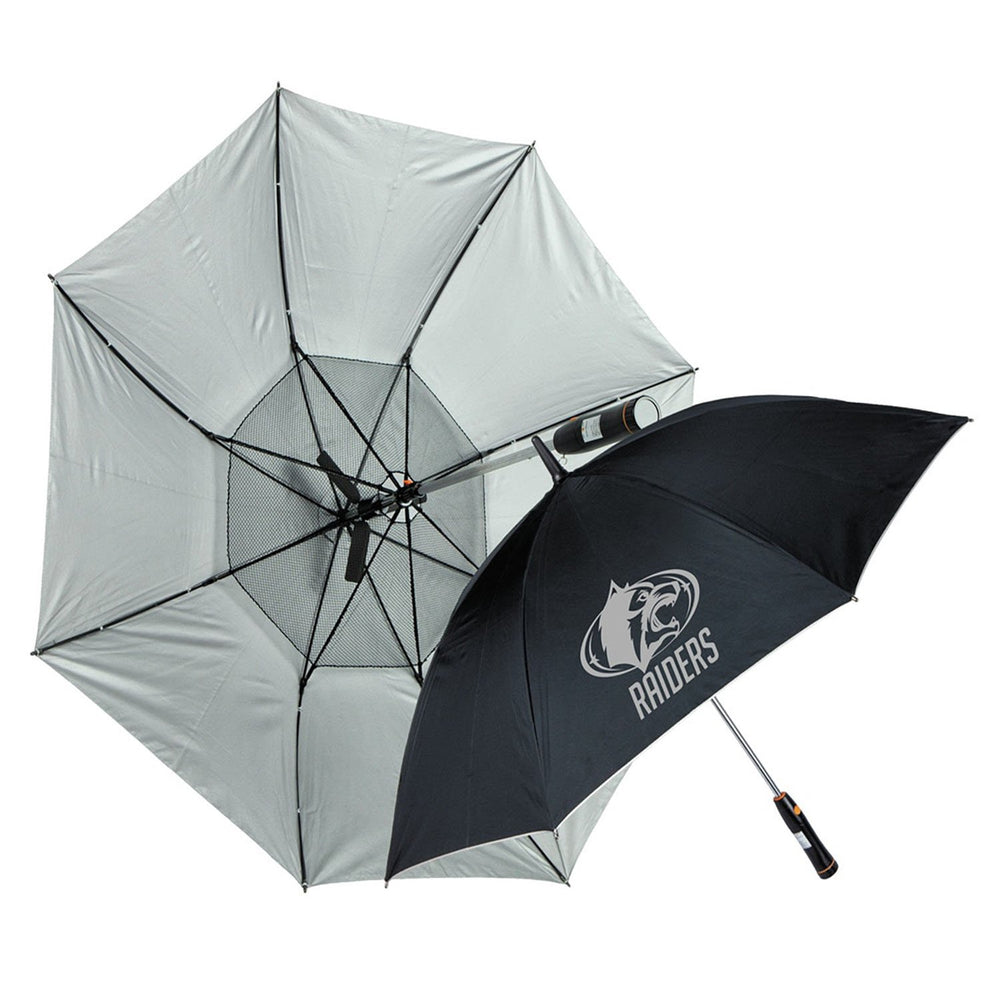 Haas-Jordan Breeze Umbrella with logo