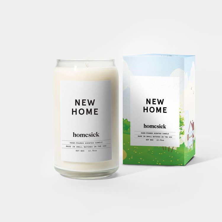 New Home Candle