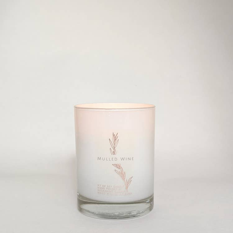 Mulled Wine Wood Wick Candle