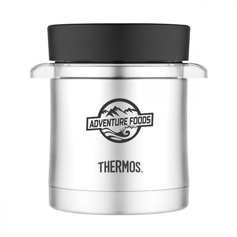 Thermos Food Jar with Microwavable Container