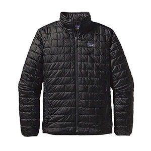 Patagonia Men's Nano Puff Jacket in black