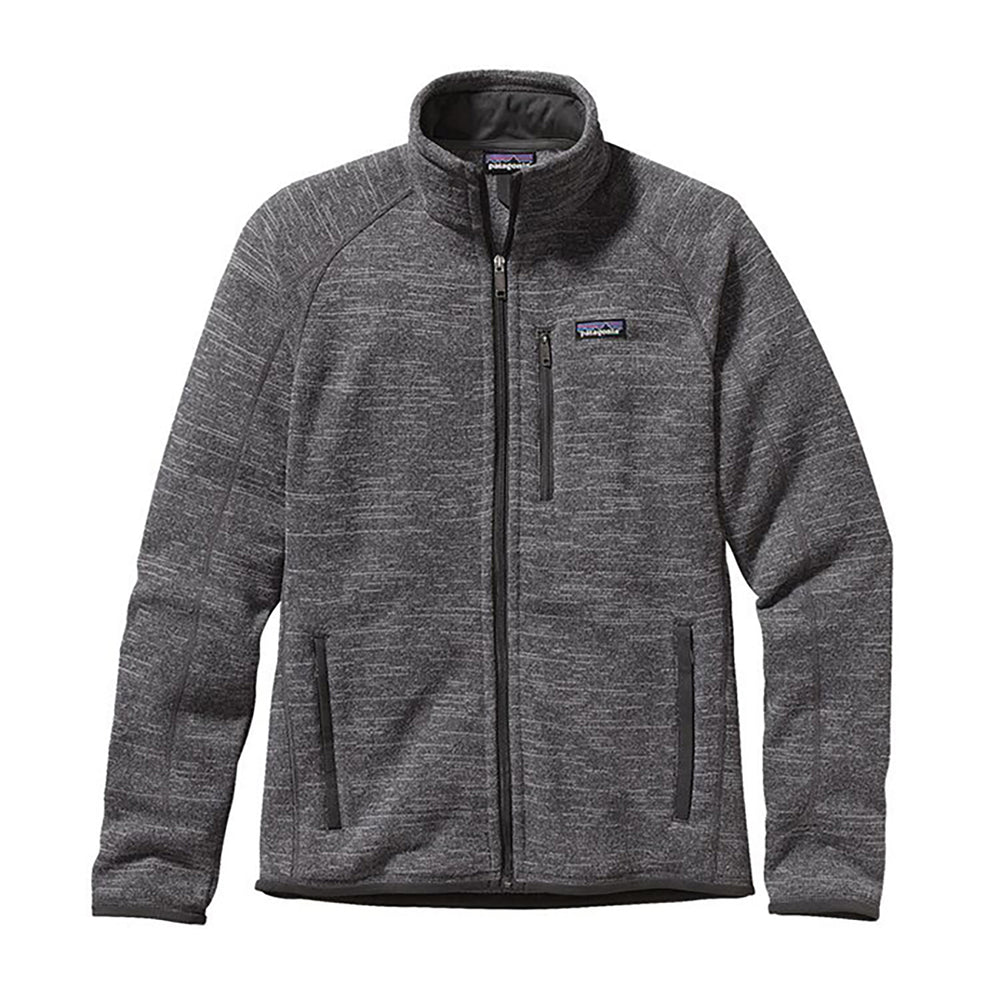 Patagonia Men's Better Sweater Jacket in nickel