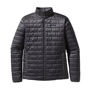 Patagonia Men's Nano Puff Jacket in forge grey