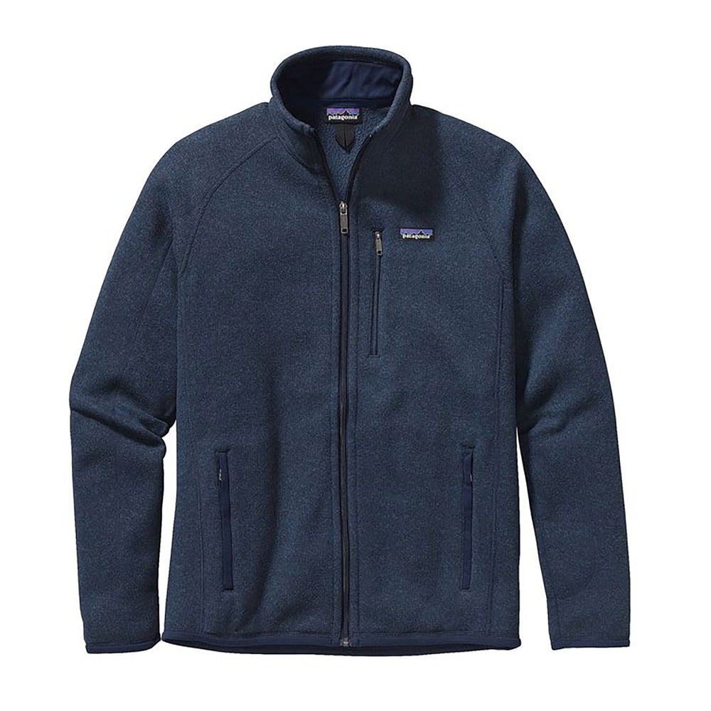 Patagonia Men's Better Sweater Jacket in navy