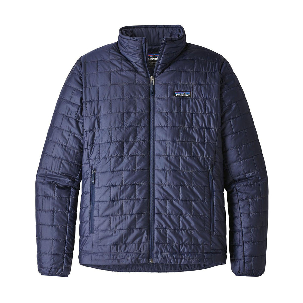 Patagonia Men's Nano Puff Jacket in Navy