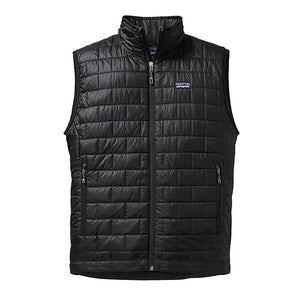 Patagonia Men's Nano Puff Vest in black