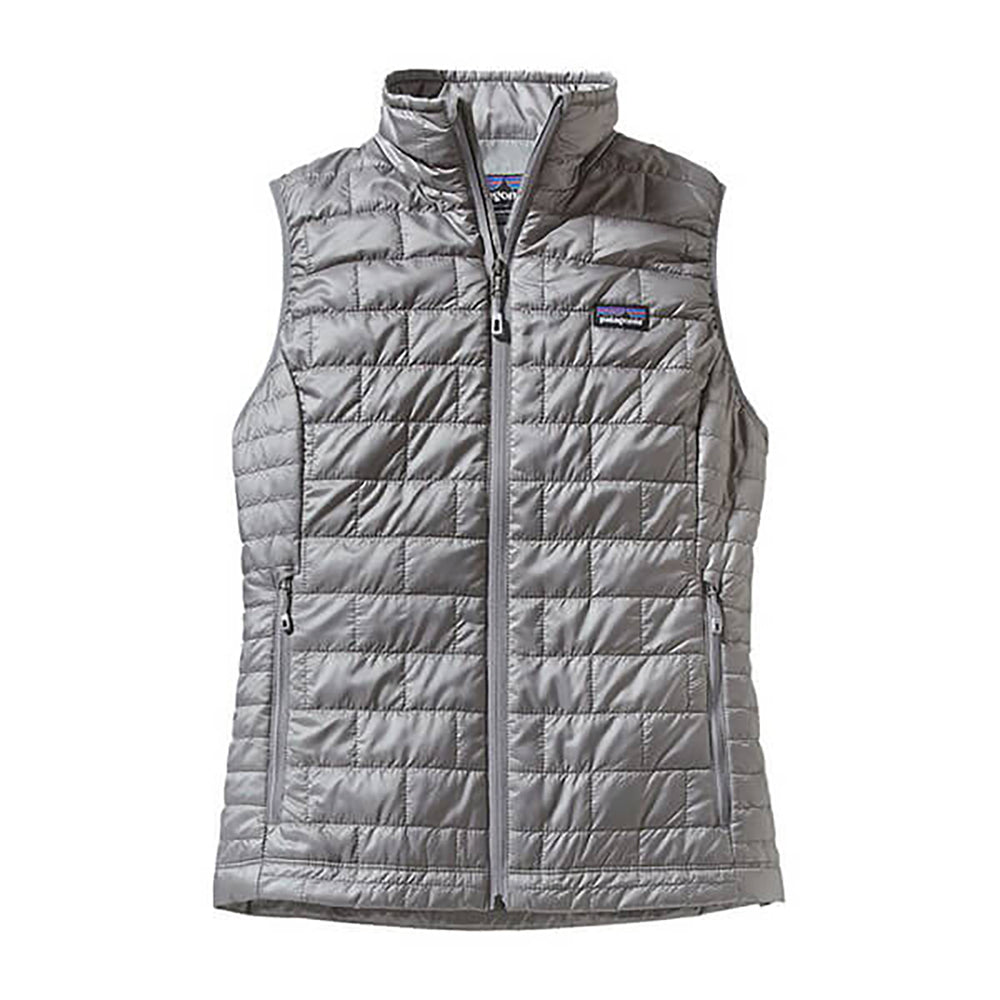 Patagonia Women's Nano Puff Vest in birch white