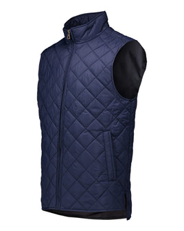 Diamond Quilted Vest // Men's