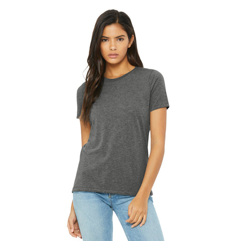 Bella+Canvas Women's Relaxed Fit Jersey Short Sleeve Tee