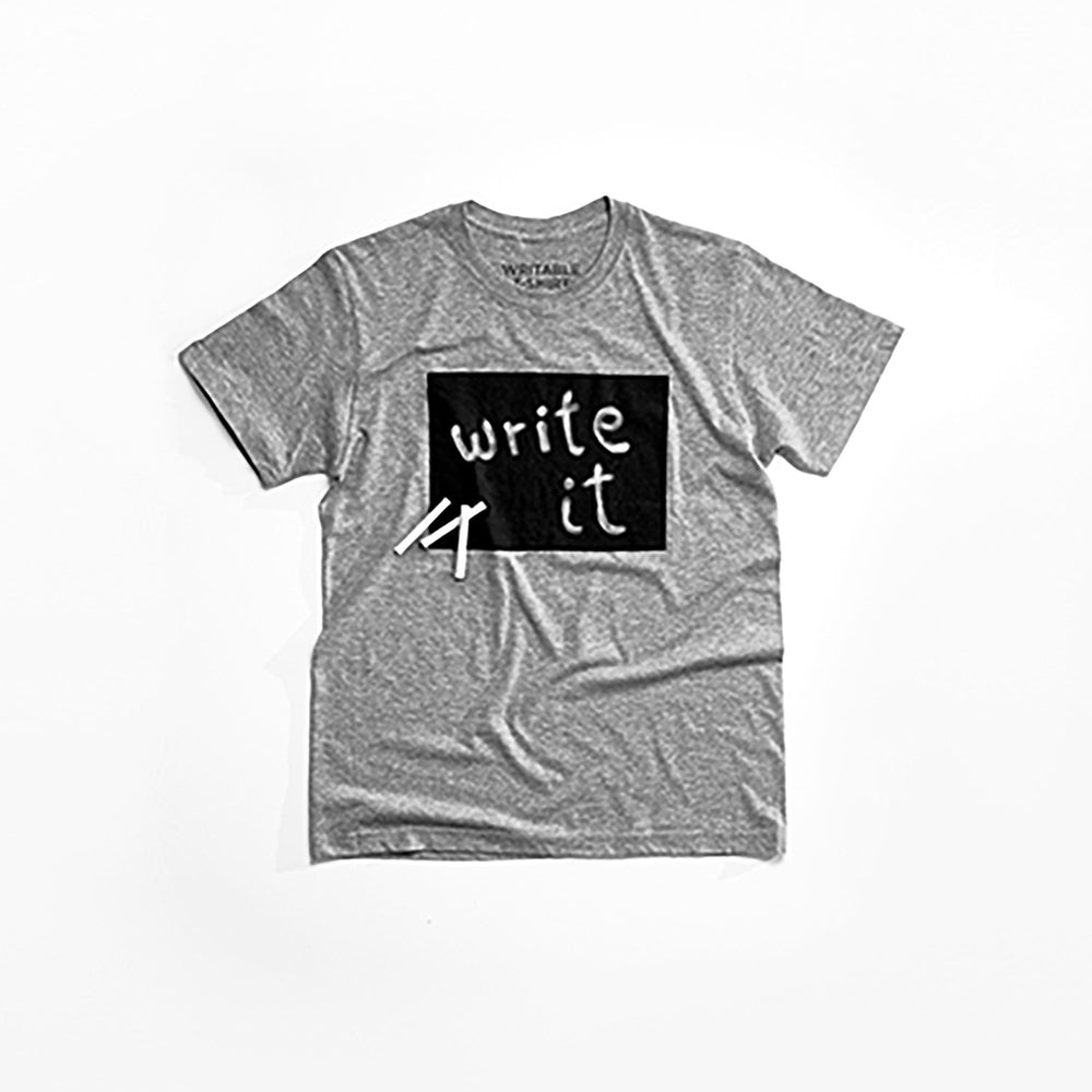 Writable T-Shirt (Ladies') care instructions