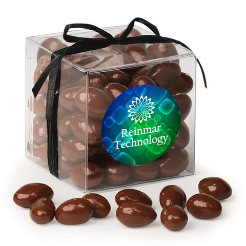 Treat Cubes with chocolate covered Almonds