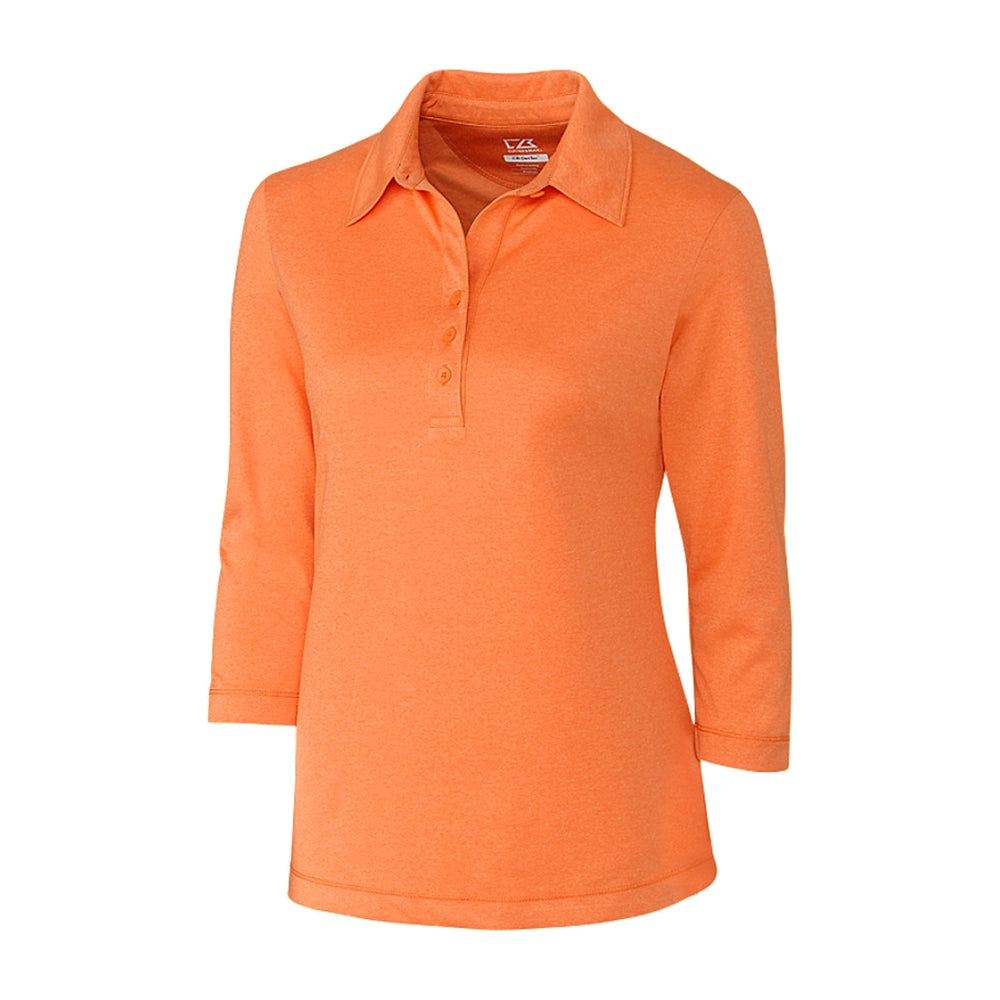Cutter & Buck Chelan Polo 3/4 Sleeve // Ladies