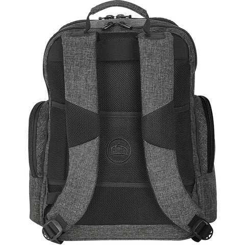 Stormtech Odyssey Executive Backpack carbon heather back