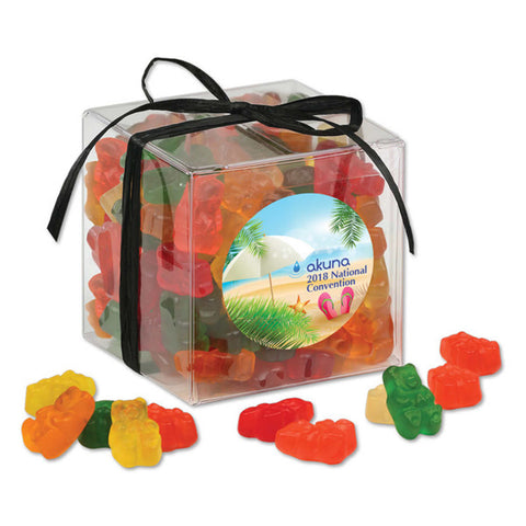 Treat Cubes with Gummy Bears