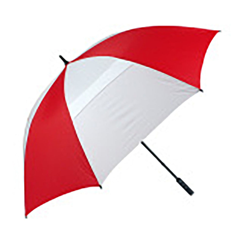 Haas-Jordan Hurricane Umbrella in red and white