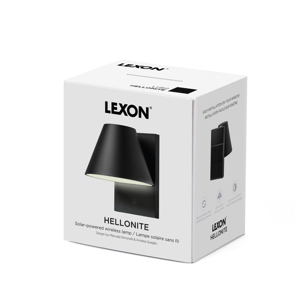 HELLONITE Solar Window Lamp