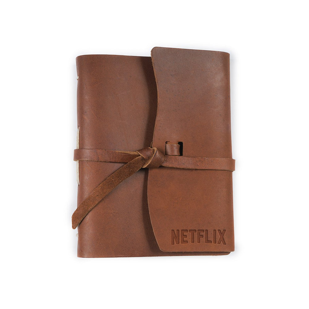Parley Leather Flap Tie Journal