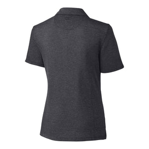Cutter & Buck DryTec Championship Polo (Ladies) charcoal back