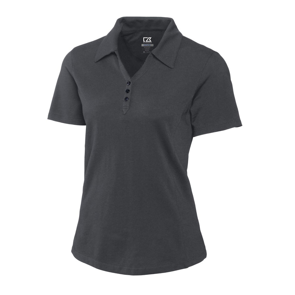 Cutter & Buck DryTec Championship Polo (Ladies) charcoal