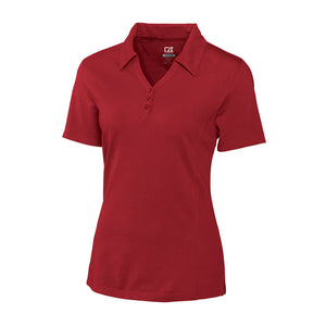 Cutter & Buck DryTec Championship Polo (Ladies) cardinal red