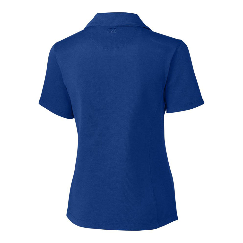 Cutter & Buck DryTec Championship Polo (Ladies) tour blue back