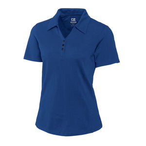 Cutter & Buck DryTec Championship Polo (Ladies) tour blue