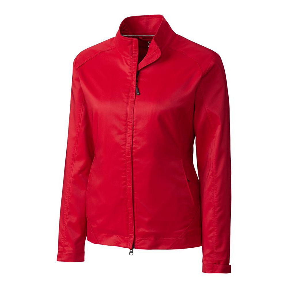 Cutter & Buck WeatherTec Blakely Jacket (Ladies) red