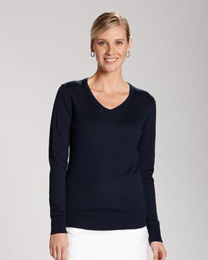 Douglas V-Neck Sweater // Ladies