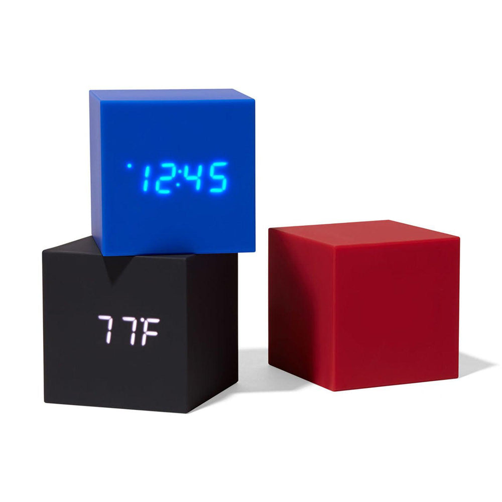 MoMA Cube Clock stacked clocks