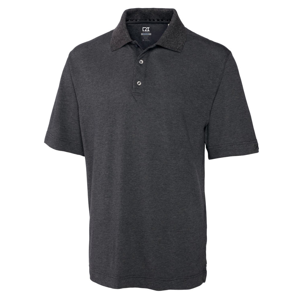 Cutter & Buck DryTec Championship Polo (Men's) charcoal