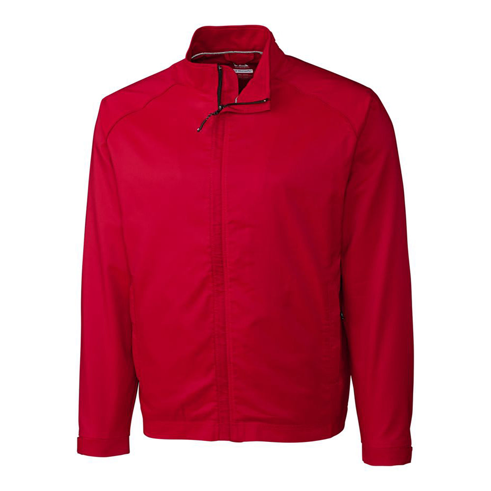 Cutter & Buck WeatherTec Blakely Jacket (Men's) red