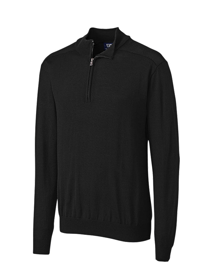 Douglas Half Zip Mock Sweater // Men's