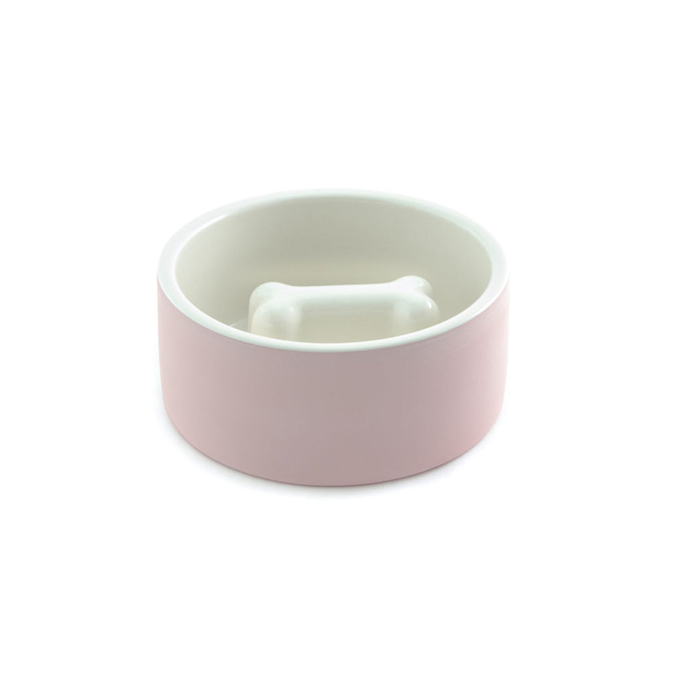 Magisso dog bowl in pink