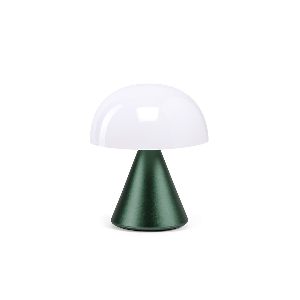 Lexon Mina Led Lamp in dark green